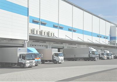 転送から倉庫+設置までの一貫サービス